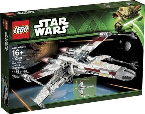 Instructions For Lego Star Wars 10240 Red Five X Wing Starfighter